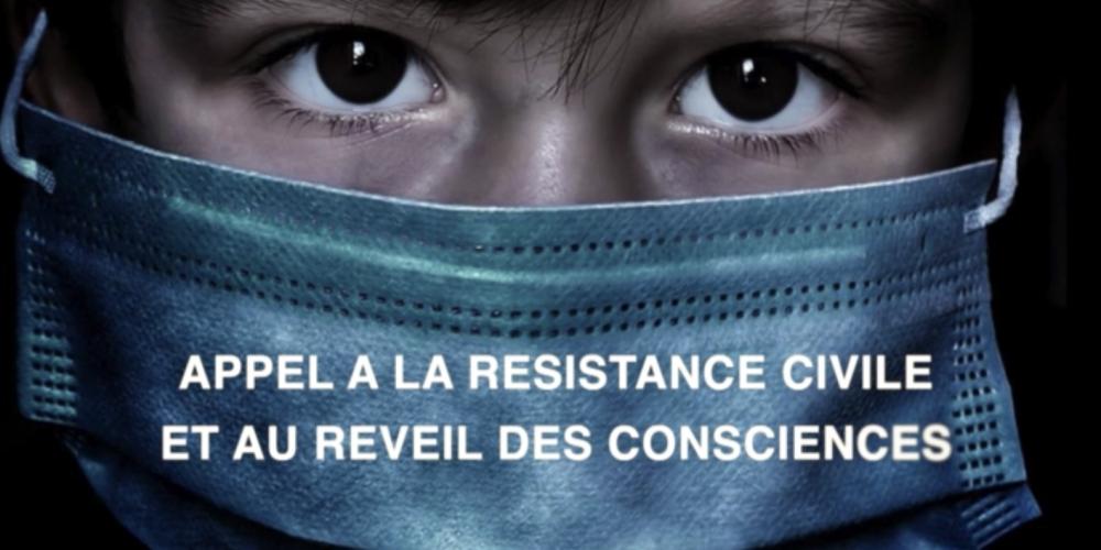 «Appel à la résistance civile et à un réveil des consciences»