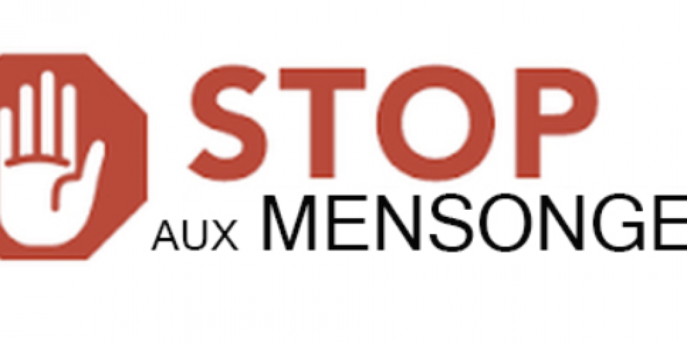 COVID : STOP MENSONGES !
