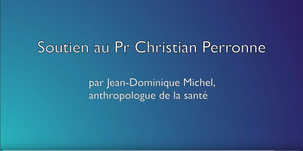 Message de soutien au Pr Christian Perronne