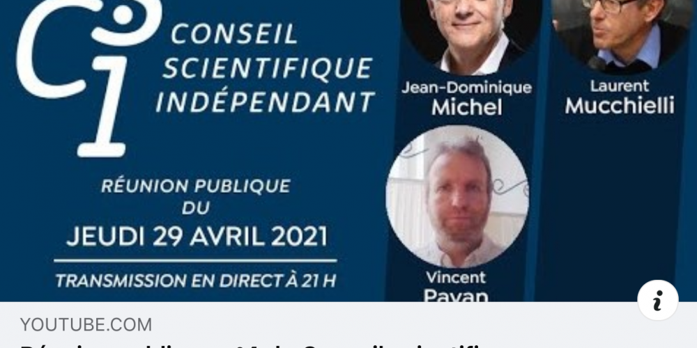 Conseil scientifique indépendant n° 4 du 29 avril 2021
