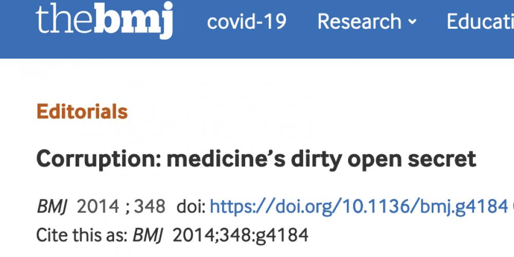Ah, les prouesses tant vantées de la médecine moderne !