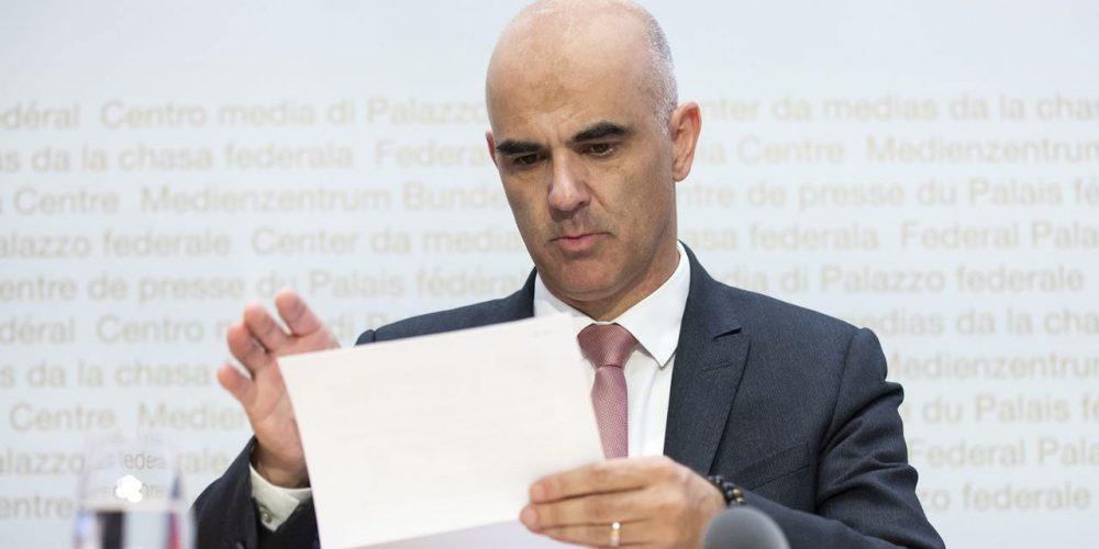 Appel à la démission du conseiller Alain Berset, et à la dissolution de la Task Force